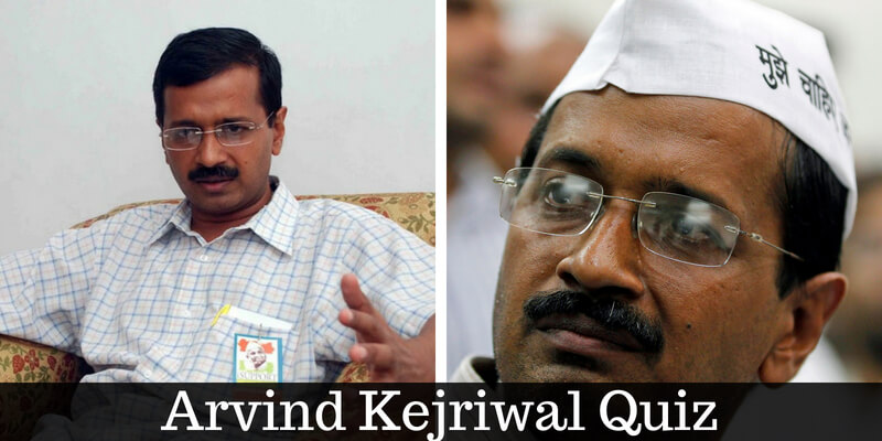 Take this quiz on Arvind Kejriwal and check how much you know about him