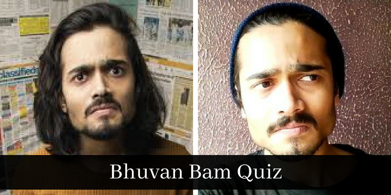 Take this quiz on BB ki Vines fame Bhuban Bam, and check how much you know about him